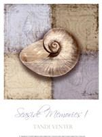 Seaside Memories I Framed Print