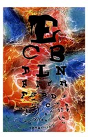 Psychedelic Eye Chart Fine Art Print