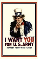 I Want You For Us Army Fine Art Print