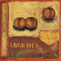 Abricots Fine Art Print
