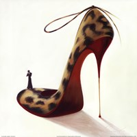 Highheels - Wild Passion Framed Print