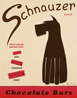 Schnauzer Bars Fine Art Print