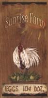 Sunrise Farm Fine Art Print