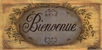 Bienvenue Framed Print