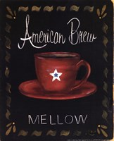 American Brew Framed Print