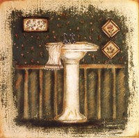 Bathroom Sink Fine Art Print