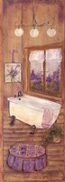 Bath in Lavender II Framed Print