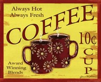 Coffee 10 Framed Print