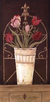 Tulipe Final Framed Print