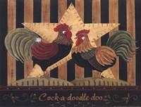 Cock-a-Doodle-Doo Framed Print