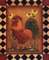 Red Rooster I Fine Art Print