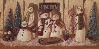 Think Snow Fine Art Print