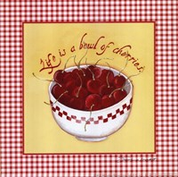 Bowl of Cherries Fine Art Print