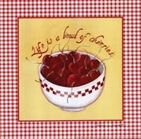 Bowl of Cherries Fine Art Print