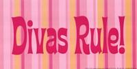 Divas Rule! Framed Print