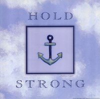 Hold Strong Framed Print