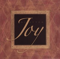 Scatter Joy - square Framed Print