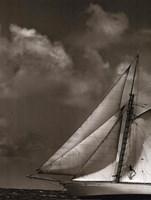 Sepia Sails II Fine Art Print