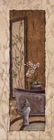 Oriental Bath I Framed Print