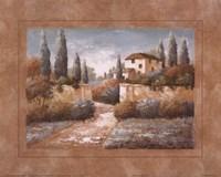Tuscan Blue II Fine Art Print