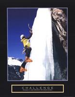 Challenge - Ice Climber Fine Art Print