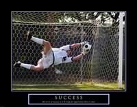 Success - Soccer Fine Art Print