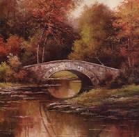 Stone Bridge Framed Print