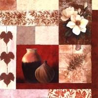 Vase Collage II Framed Print