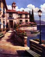 Mediterranean Villa I Fine Art Print