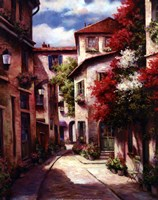 Mediterranean Villa II Fine Art Print