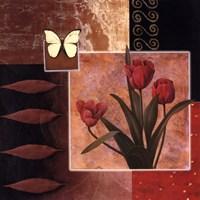 Rose/Butterfly Fine Art Print