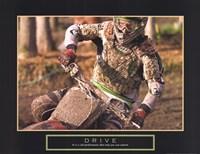 Drive - Motocross Fine Art Print