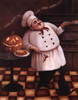 Halloween Chef I Fine Art Print