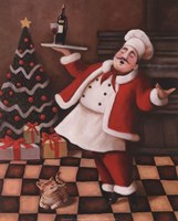 Christmas Chef II Framed Print