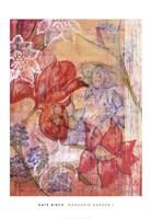 Mandarin Garden I Framed Print