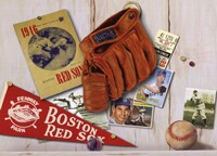 Vintage Red Sox Fine Art Print
