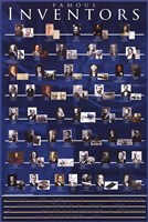 Famous Inventors Wall Poster