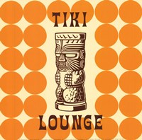 Tiki Lounge Fine Art Print