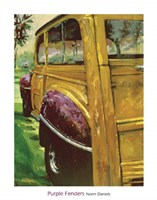 Purple Fenders Fine Art Print