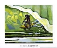 Green Room Fine Art Print