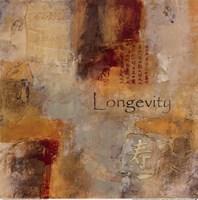 Longevity Scroll Fine Art Print