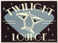 Twilight Lounge Fine Art Print