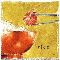 Seafood Rice Fine Art Print