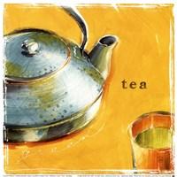 Green Leaf Tea Fine Art Print