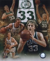 Larry Bird - Legends Of The Game Composite Fine Art Print