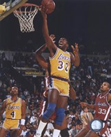 Magic Johnson Fine Art Print