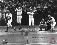 Carlton Fisk Multi Exposure Fine Art Print