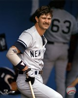 Don Mattingly - In Dugout Fine Art Print