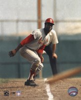 Lou Brock - On Base Fine Art Print