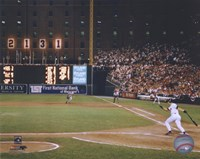 Cal Ripken Jr. 2131 Game #6 Fine Art Print